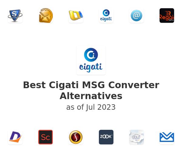 Best Cigati MSG Converter Alternatives