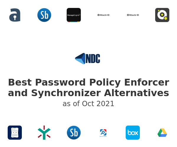 Best Password Policy Enforcer and Synchronizer Alternatives
