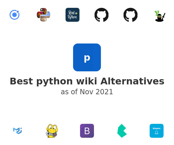 Best python wiki Alternatives