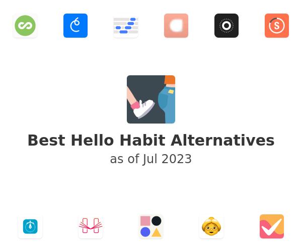 Best Hello Habit Alternatives