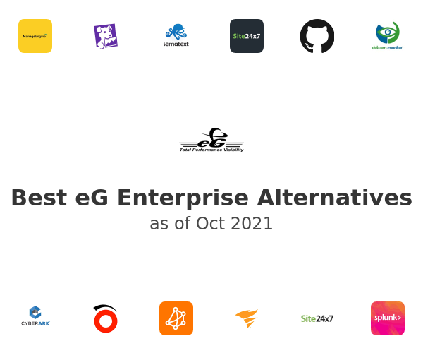 Best eG Enterprise Alternatives