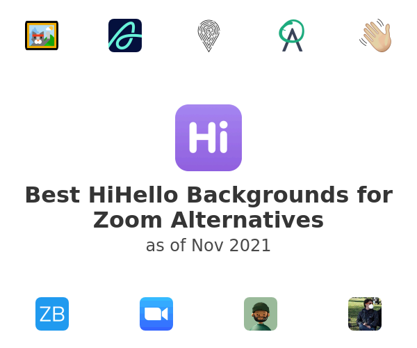 Best HiHello Backgrounds for Zoom Alternatives