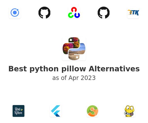 Best python pillow Alternatives