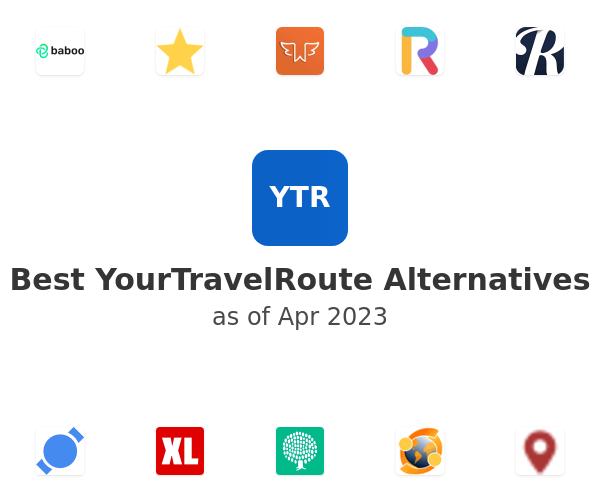 Best YourTravelRoute Alternatives