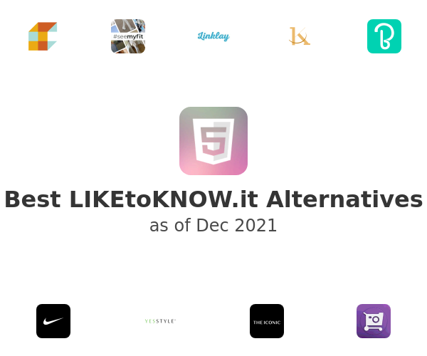 Best LIKEtoKNOW.it Alternatives