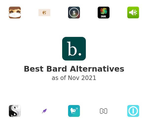 Best Bard Alternatives