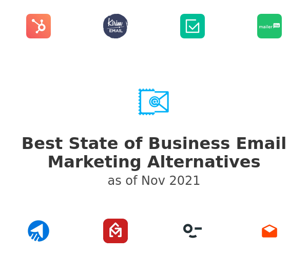Best State of Business Email Marketing Alternatives