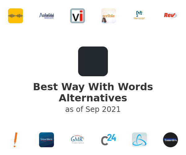 Best Way With Words Alternatives