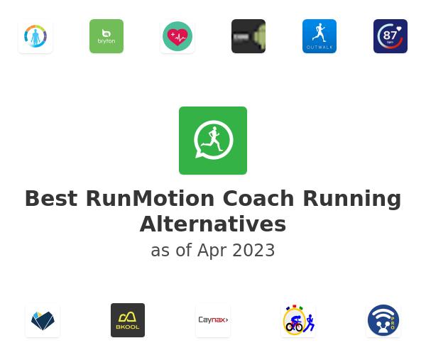 Best RunMotion Coach Running Alternatives