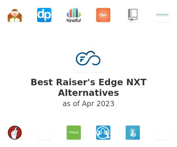 Best Raiser's Edge NXT Alternatives