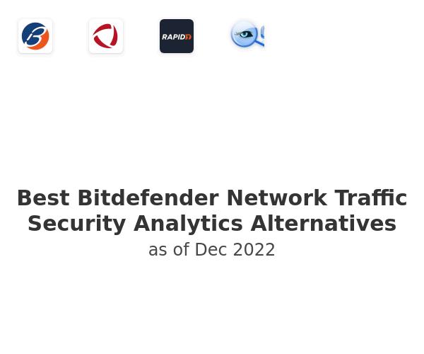Best Bitdefender Network Traffic Security Analytics Alternatives