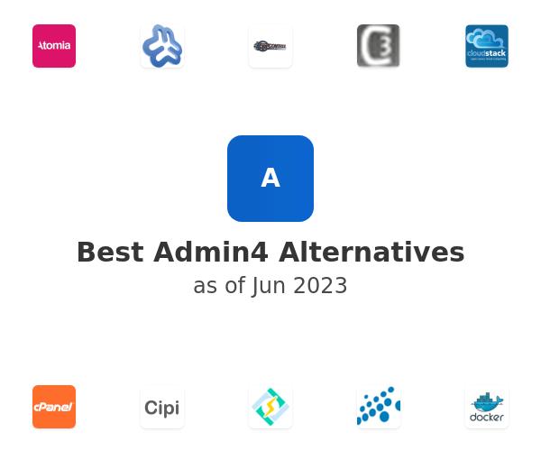 Best Admin4 Alternatives