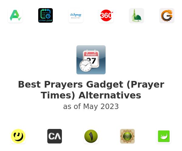 Best Prayers Gadget (Prayer Times) Alternatives