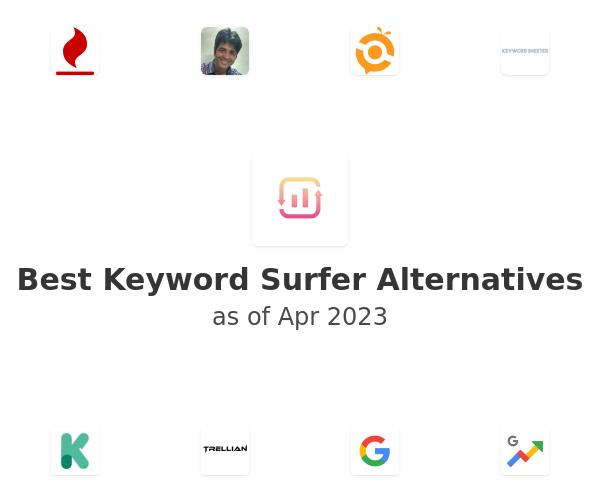 Best Keyword Surfer Alternatives