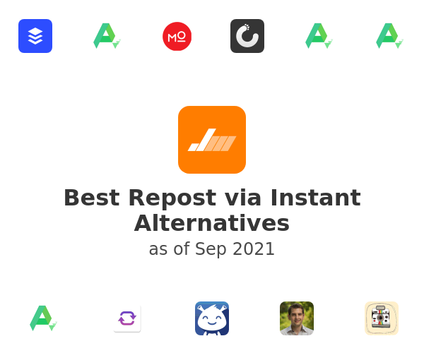 Best Repost via Instant Alternatives
