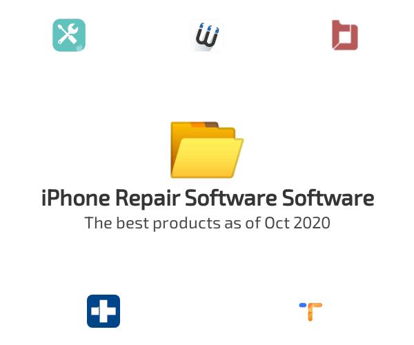 iPhone Repair Software Software