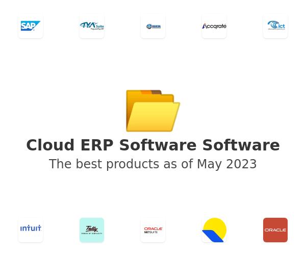 Cloud ERP Software Software