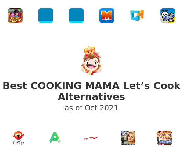 Best COOKING MAMA Let's Cook Alternatives