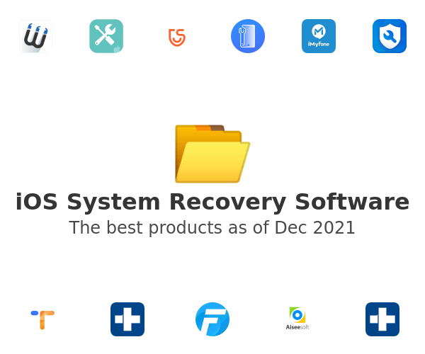 iOS System Recovery Software