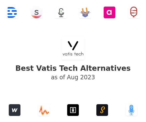 Best Vatis Tech Alternatives