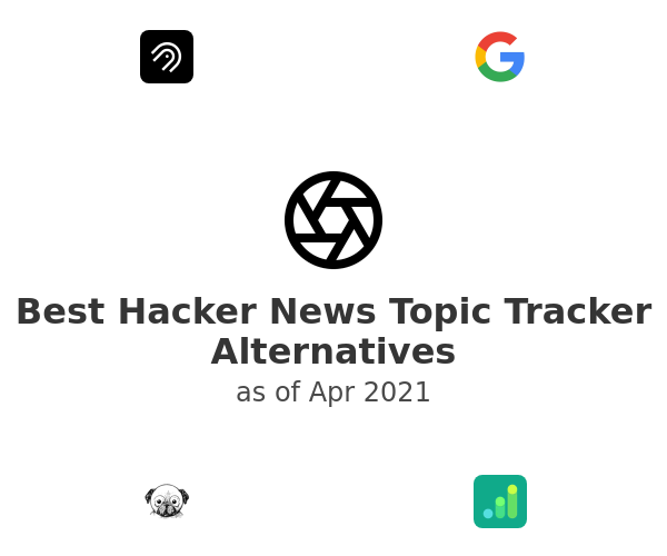 Best Hacker News Topic Tracker Alternatives