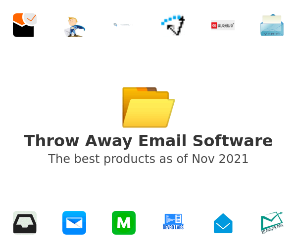 Throw Away Email Software