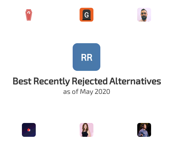 Best Recently Rejected Alternatives