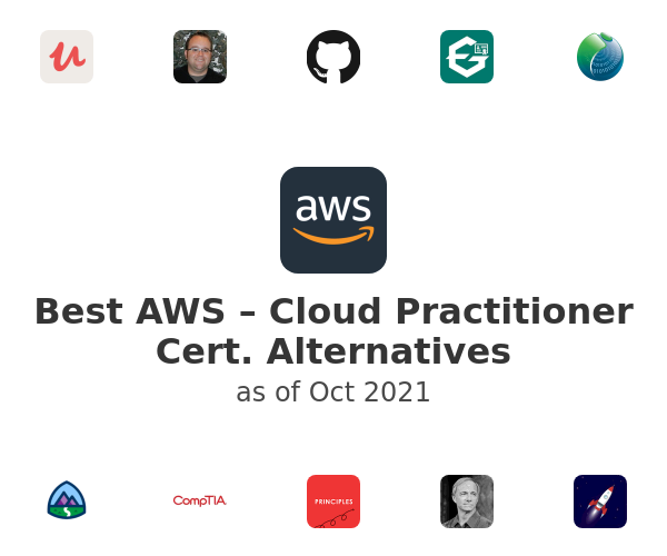 Best AWS – Cloud Practitioner Cert. Alternatives
