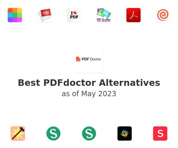 Best PDFdoctor Alternatives