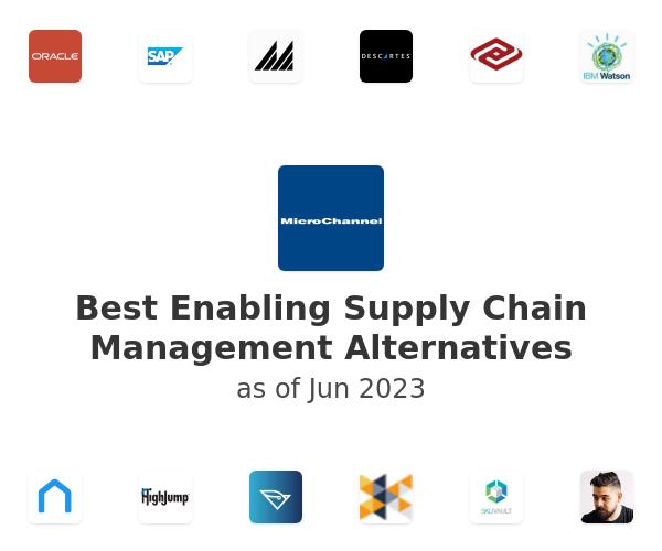 Best Enabling Supply Chain Management Alternatives