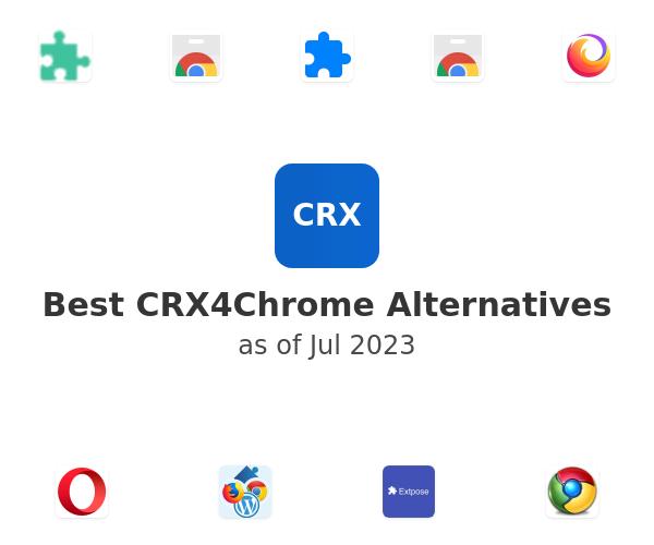 Best CRX4Chrome Alternatives