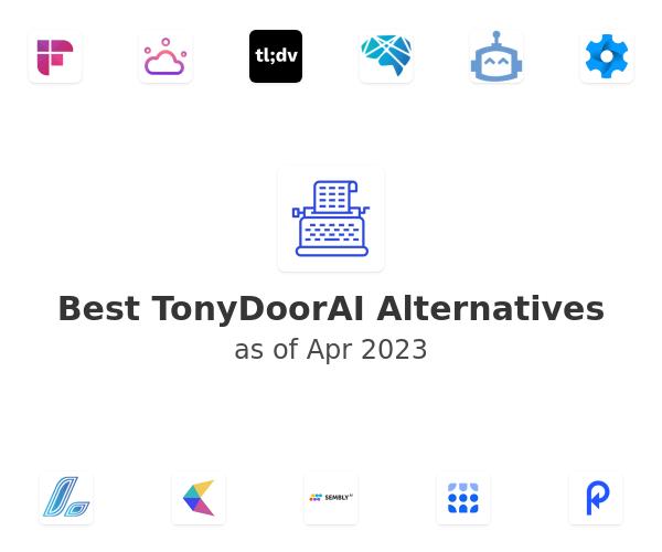 Best TonyDoorAI Alternatives