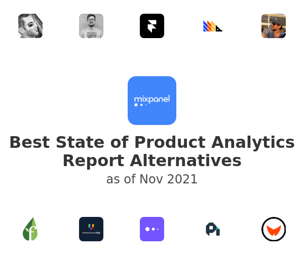 Best State of Product Analytics Report Alternatives