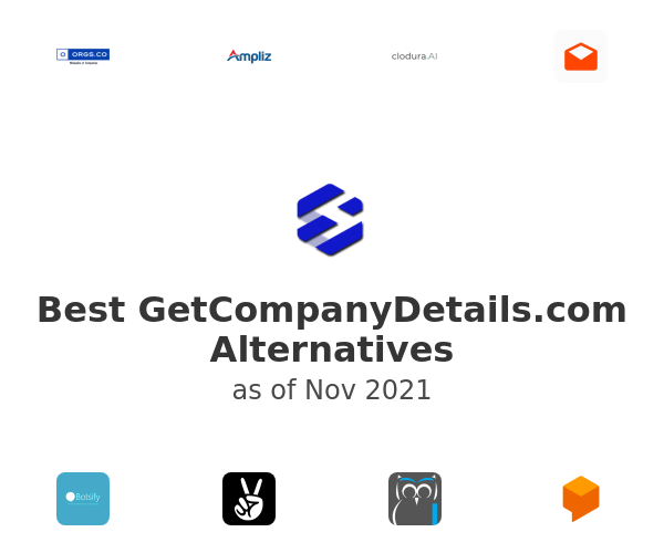 Best GetCompanyDetails.com Alternatives