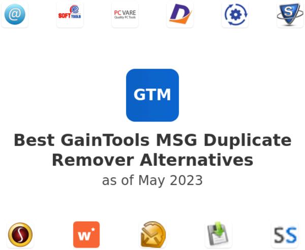 Best GainTools MSG Duplicate Remover Alternatives