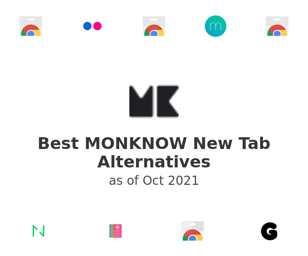Best MONKNOW New Tab Alternatives