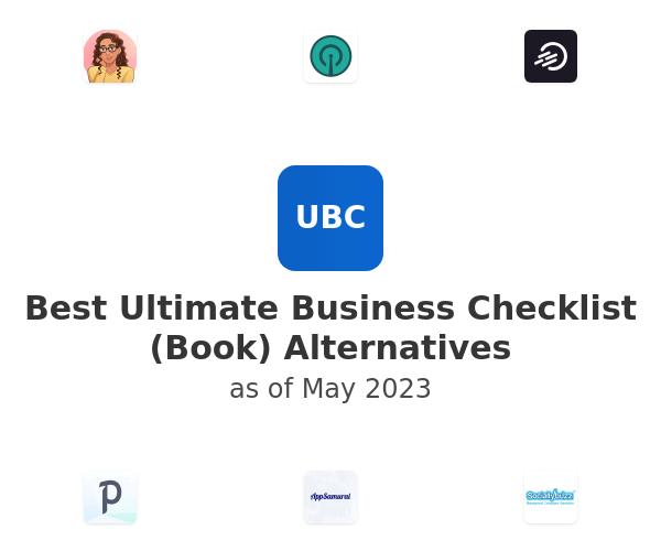 Best Ultimate Business Checklist (Book) Alternatives