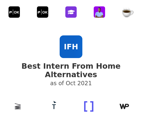 Best Intern From Home Alternatives