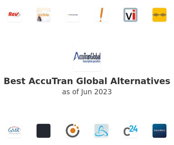 Best AccuTran Global Alternatives