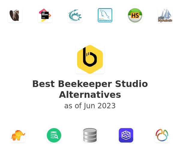 Best Beekeeper Studio Alternatives