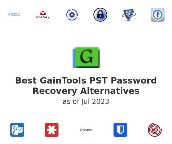 Best GainTools PST Password Recovery Alternatives