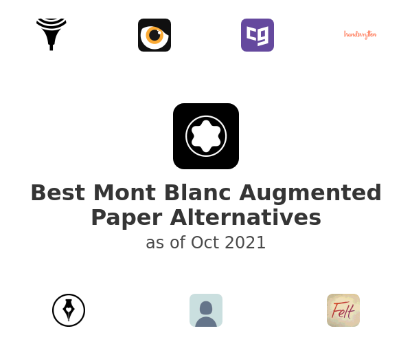 Best Mont Blanc Augmented Paper Alternatives