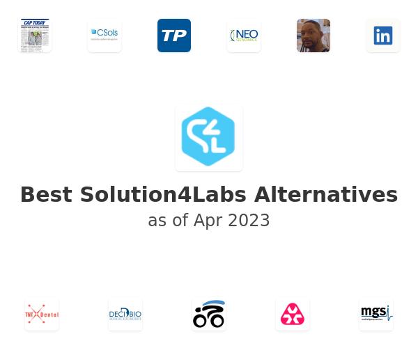 Best Solution4Labs Alternatives