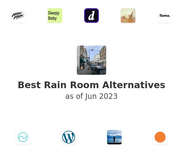 Best Rain Room Alternatives