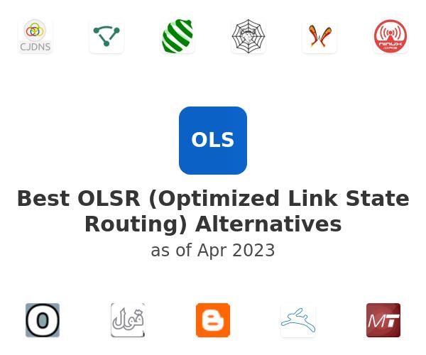 Best OLSR (Optimized Link State Routing) Alternatives