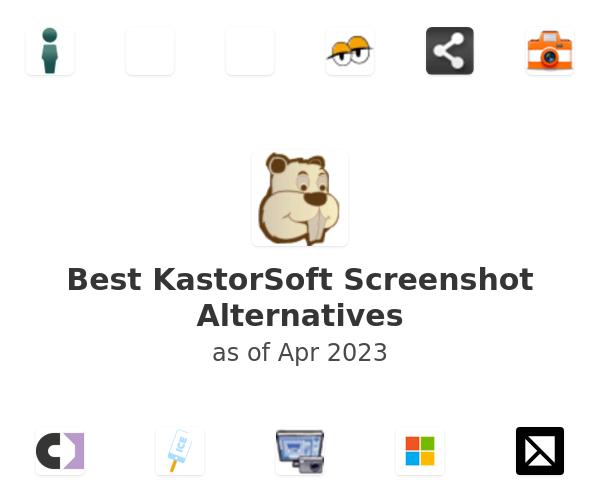 Best KastorSoft Screenshot Alternatives