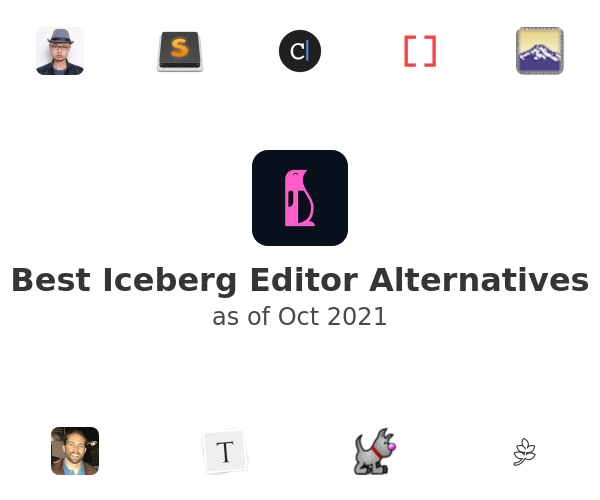 Best Iceberg Editor Alternatives