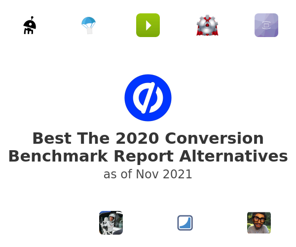 Best The 2020 Conversion Benchmark Report Alternatives