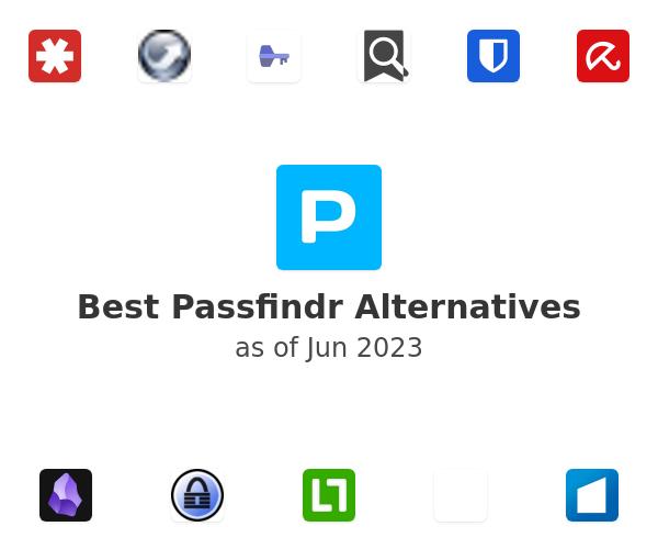 Best Passfindr Alternatives