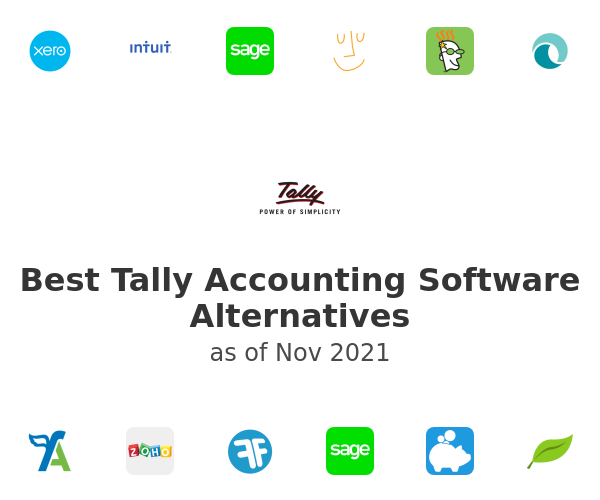 Best Tally Accounting Software Alternatives